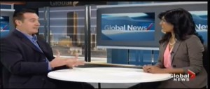Terry Cutler talks about scams on Global Montreal News